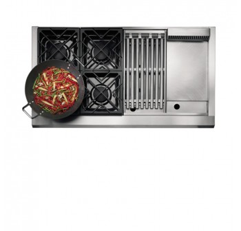 GE Monogram ZGU48L4GHSS Gas Hob - (Display Clearance)
