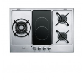 Whirlpool AKT759-IX Hybrid Hob (Gas + Vitroceramic) - (Display Clearance)
