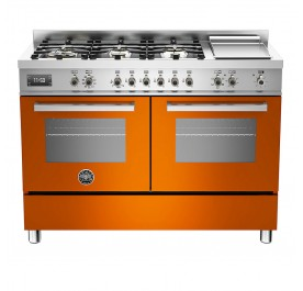 Bertazzoni PRO120-6G-MFE-D-ART Professional Series 120cm Range Cooker - (Display Clearance)