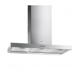 Smeg KSE91X Chimney Hood - (Display Clearance)