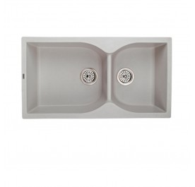 HCE GKS-8848-V Double Bowl Granite Sink