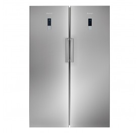 Brandt BFL584YNX+BFU584YNX 2-Door Refrigerator (610L Side-by-Side Combination Fridge Freezer)