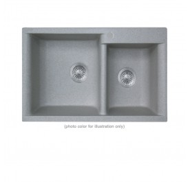 Smith GNS834820B 2-Bowl Granite Sink