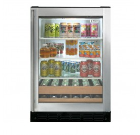 GE Monogram ZDBR240PBS Beverage Center
