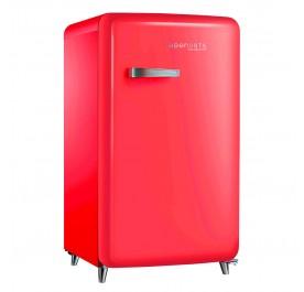 Lebensstil LKSF-9705RD Retro Style Refrigerator