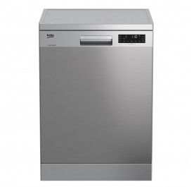 Beko DFN28J21X 14-Place Settings Dishwasher (Freestanding)