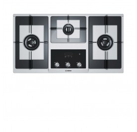 Bosch PBD9351MS 3-Burner Stainless Steel Gas Hob