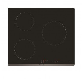 Brandt BPI6309B 3-Cooking Zone Induction Hob