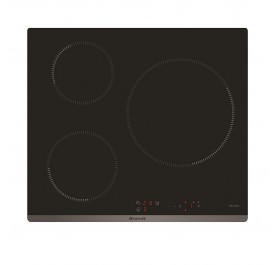 Brandt BPI6314B 3-Cooking Zone Induction Hob