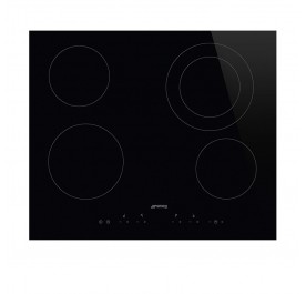 Smeg SE364ETD 4-Cooking Zone Vitroceramic Hob