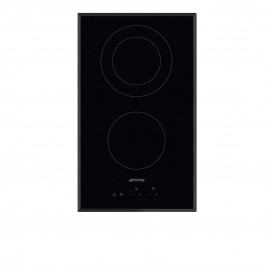 Smeg SE332EB 2-Cooking Zone Modular Vitroceramic Hob