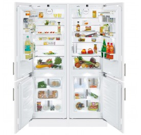 Liebherr SBS66I2 Integrated Side-by-Side Built-In Refrigerator