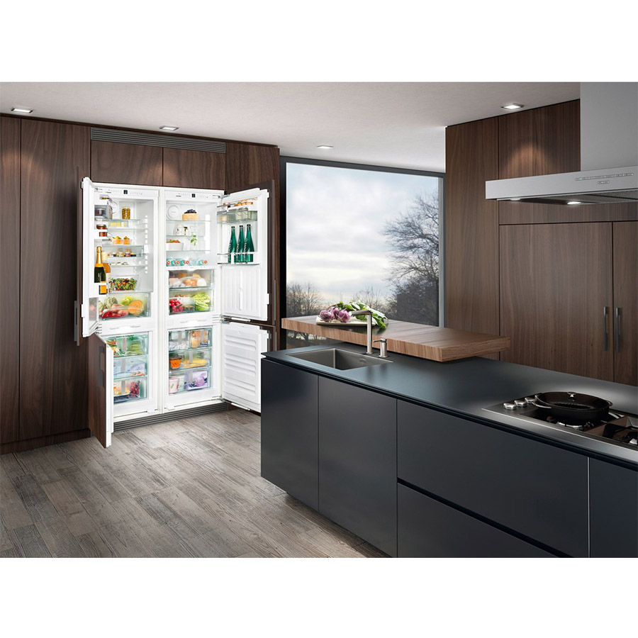 Liebherr Sbs66i3 Integrated Side By Side Built In Refrigerator
