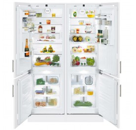 Liebherr SBS66I3 Integrated Side-by-Side Built-In Refrigerator