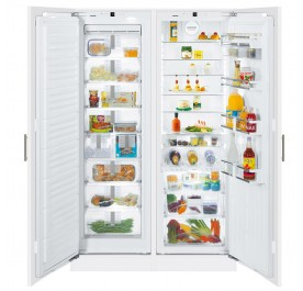 Liebherr SBS 70I4 2-Door Refrigerator (515L Full Integrated Side-by-Side Built-In Fridge-Freezer)