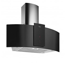 Teka DU 90 Decorative Black Glass Chimney Hood