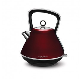 Morphy Richards 100108 Evoke Core Pyramid Kettle - Red