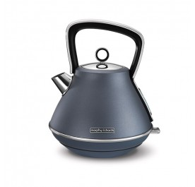 Morphy Richards 100102 Evoke Special Edition Pyramid Kettle - Blue Steel