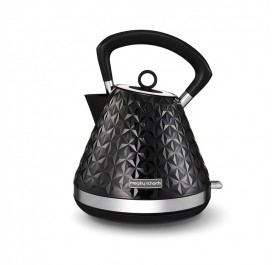 Morphy Richards 108131 Vector Pyramid Kettle - Black