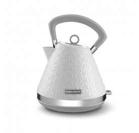 Morphy Richards 108134 Vector Pyramid Kettle - White