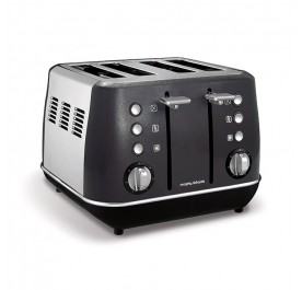 Morphy Richards 240105 Evoke Core 4 Slice Toaster - Black