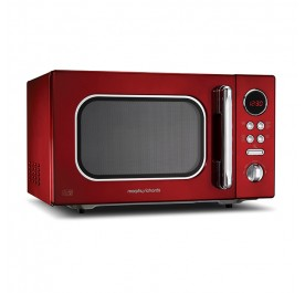Morphy Richards 23L Microwave Oven 511512 - Red