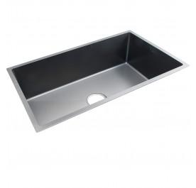 HUN Undermount Jumbo Single Bowl Nanotech Kitchen Sink HKS 309-NANO