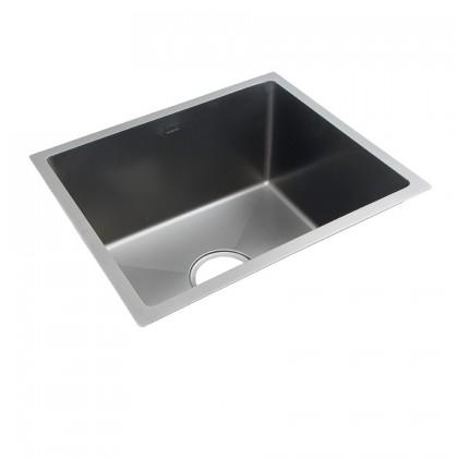 HUN Undermount Small Size Single Bowl Nanotech Kitchen Sink HKS 307-NANO