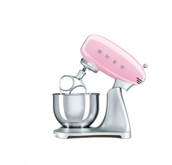 Smeg SMF01RD 50's Retro Style Stand Mixer (Pink)