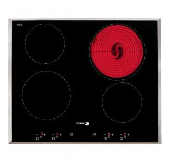 [Combo] Fagor 2CPV90X Chimney Hood + 2VFT-440AX Vitroceramic + 6H-114AX Oven
