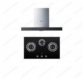 [Duo] Robam A810 Chimney Hood + B396 Gas Hob