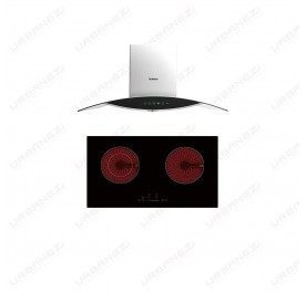 [Duo] Robam A812 Chimney Hood + W211 Ceramic Hob