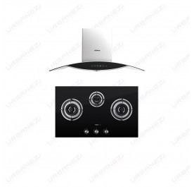 [Duo] Robam A812 Chimney Hood + B396 Gas Hob