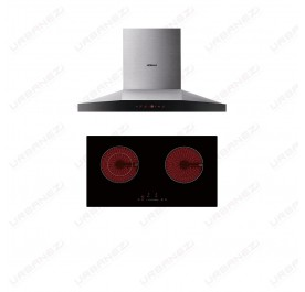 [Duo] Robam A818 Chimney Hood + W211 Ceramic Hob