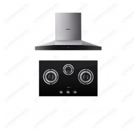 [Duo] Robam A818 Chimney Hood + B396 Gas Hob