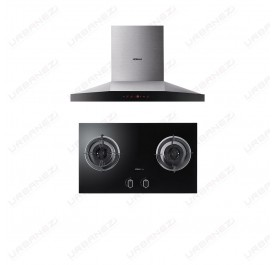 [Duo] Robam A818 Chimney Hood + B928 Gas Hob