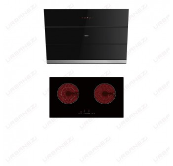 [Duo] Robam A866 Chimney Hood + W211 Ceramic Hob