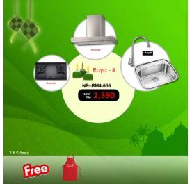 [Raya 4] Brandt BHB-6902X Chimney Hood + TG-1428B Gas Hob