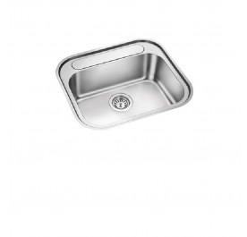 HCE KS-5649 Top Mount Single Bowl Stainless Steel Sink
