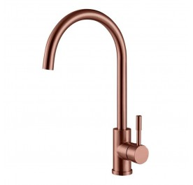 HUN HWT 9313-HC Pillar Kitchen Mixer Tap (Nano Rose Gold)