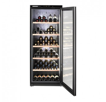 Liebherr Barrique WKgb 4113 Wine Chiller - HEATED Glass Door (168 Bottles Wine Storage Cabinet)