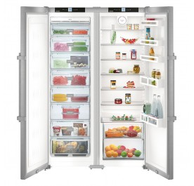 Liebherr SBSef 7242 2-Door Refrigerator (652L Side-by-Side Combination with NoFrost Fridge-Freezer)
