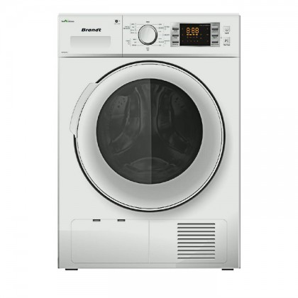 Brandt BWD89H2DA 8kg Condenser Dryer With Heat Pump