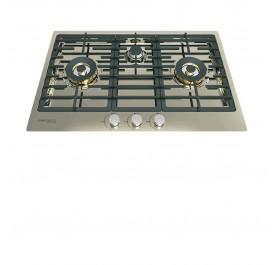 Lebensstil LKGH-8403SS 3-Burner Stainless Steel Gas Hob