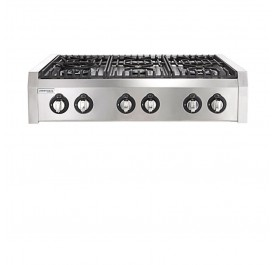 Lebensstil LKPH-8006SS 6-Cooking Burner Professional Cooker