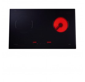 Lebensstil LKHH-7302P Hybrid Hob (Vitroceramic + Induction)
