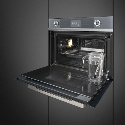 Smeg SF4102VCS 40L Compact Combination Steam Oven