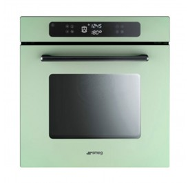 Smeg FP610SV Marc Newson 68L Built-In Pyrolitic Oven (Pastel Green)