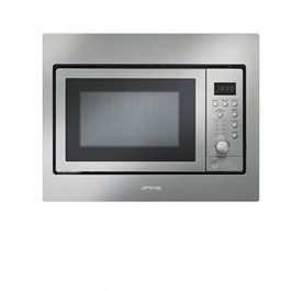 Smeg FMA25X 25L Built-In Microwave