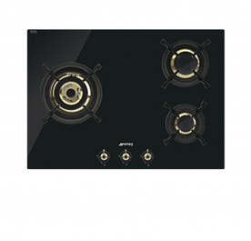 Smeg PC73GNO 3-Burner Gas Hob